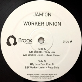 Jam'On / Worker Union ‎– Easy Day / Stone Flower EP [12