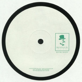 Unknown Artist ‎– Monsieur Blue 003 EP [12