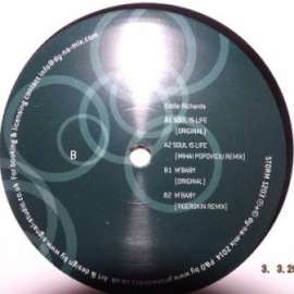 Eddie Richards ‎– Soul Is Life / M`baby (12