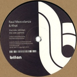 Raul Mezcolanza, Khat – Old Days EP [12