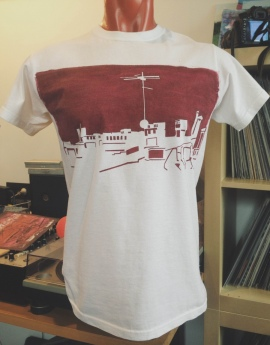 Saint Pete's Roof Tops T-Shirt v.1 [Handmade]