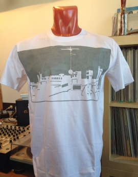 Saint Pete's Roof Tops T-Shirt v.3 [Handmade]