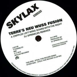 Terre's Neu Wuss Fusion ‎– A Crippled Left Wing Soars With The Right - DJ Sprinkles Remixes EP [12